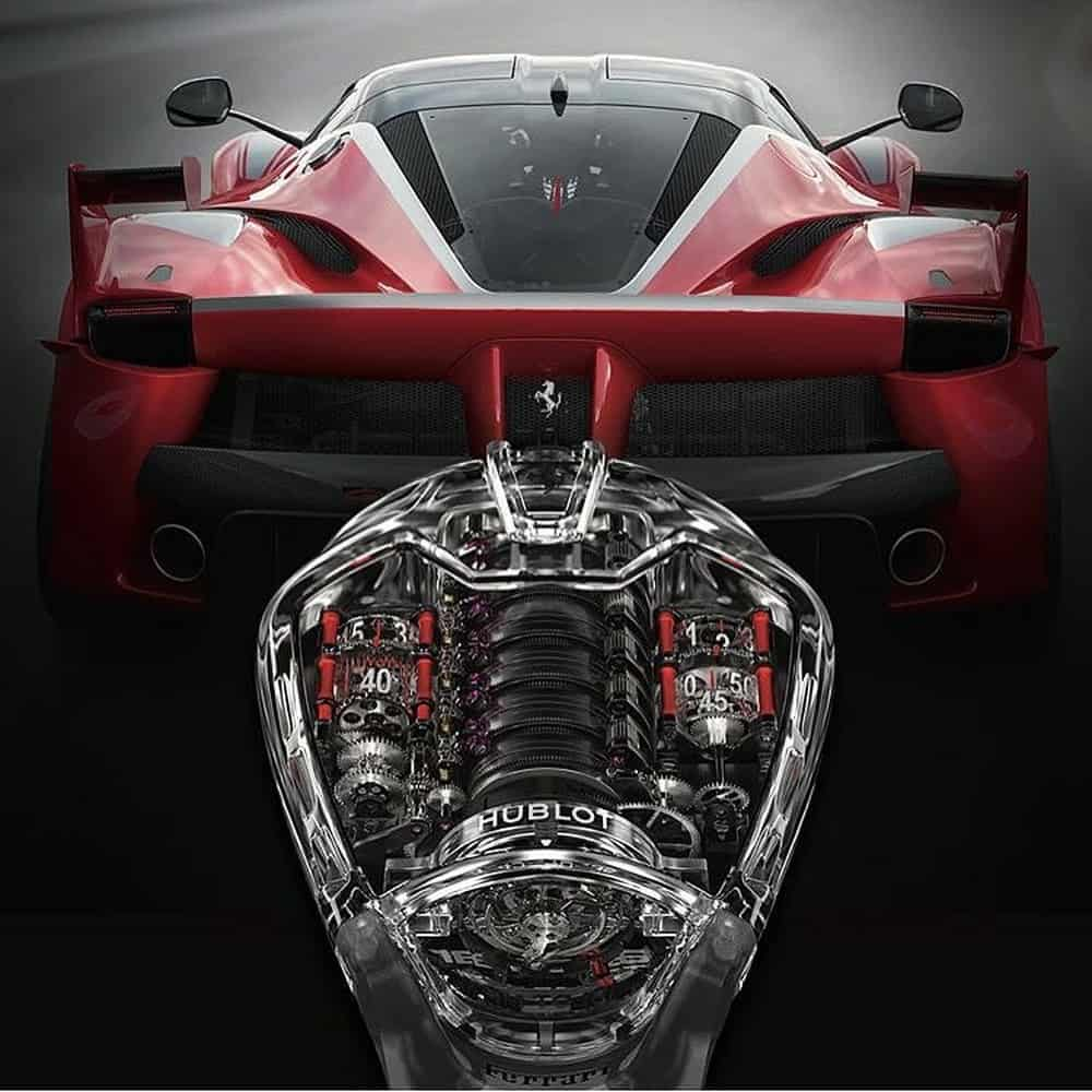 Laferrari hublot