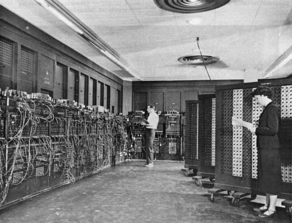 premier ordinateur eniac