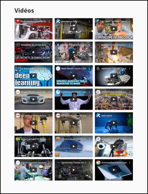 Vidéo sciences de l'ingénieur